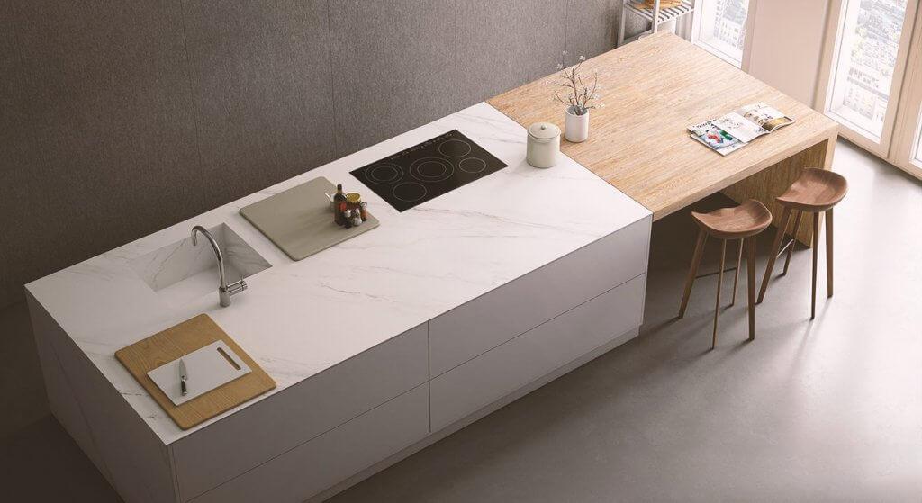 Стільниця для кухні з каменю